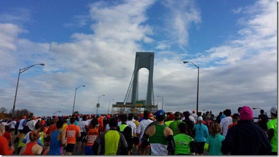 Verrazano Bridge New York City Marathon