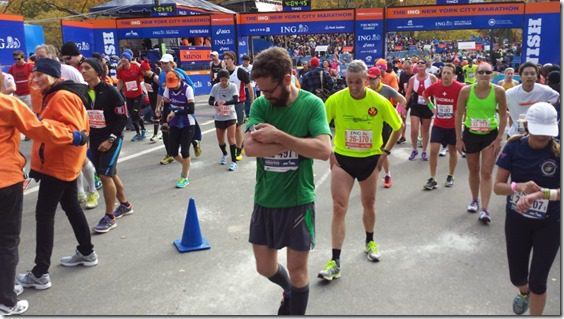 NYC marathon results and recap