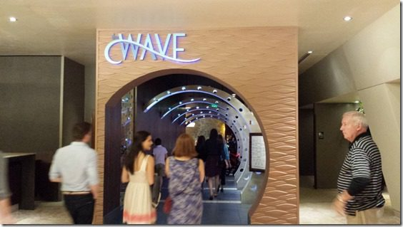 The Wave in the Contemporary Hotel