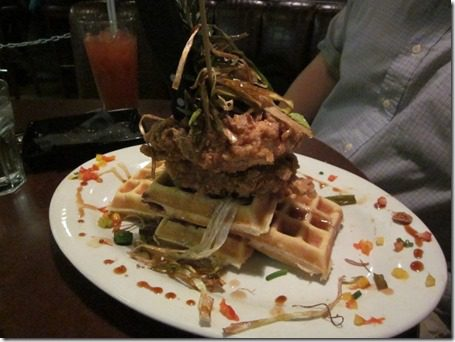chicken and waffles hash house