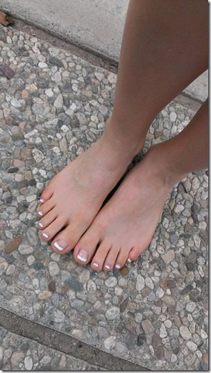 pedicure is a great gift for a runner  ideas for holidays