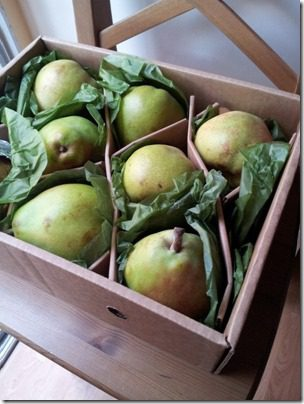 harry and david pears are a great gift for runners
