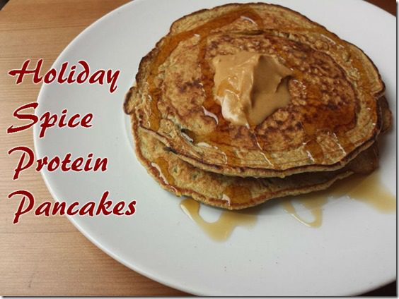 holiday spice protein pancakes recipe