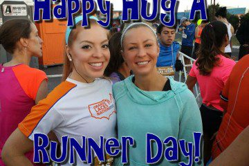 Hug A Runner Day– another runner