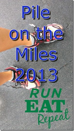 pile on the miles 2013 logo thumb1 Pile on the Miles Week One