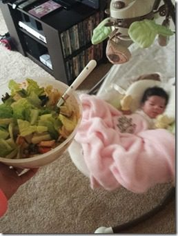 salad and a baby (342x456)