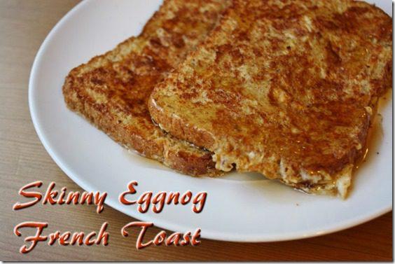 Skinny Eggnog French Toast Recipe