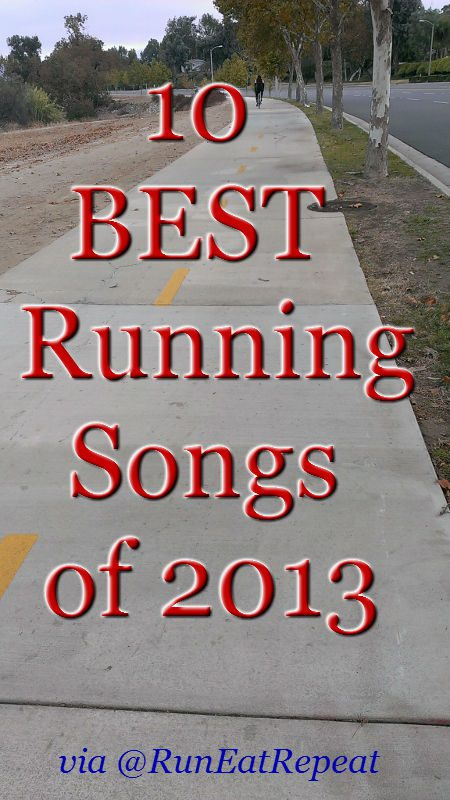 10 best running songs of 2013