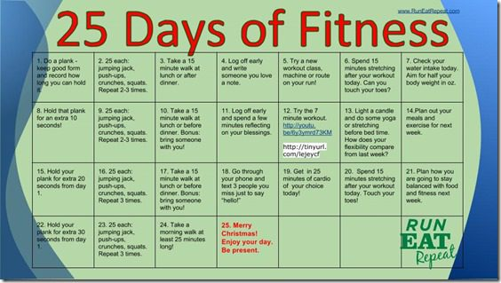 25 Days of Fitness with RunEatRepeat thumb 25 Days of Fitness Challenge – Day 1 Plank