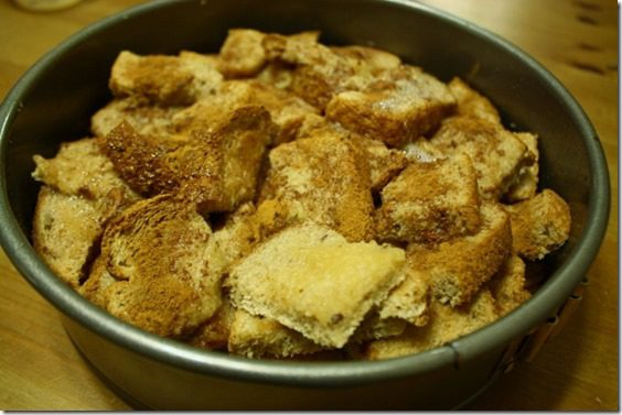 healthy cinnamon pull apart bread recipe with whole wheat bread