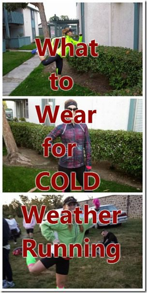 dressing for different temperatures winter running