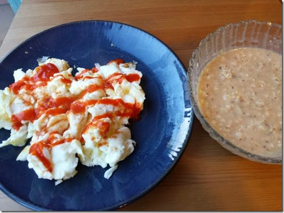 eggs and oatmeal 668x501 thumb Motivation Monday–25 Days of Fitness Day 16