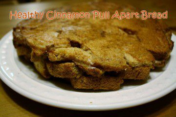 Healthy Cinnamon Pull Apart Bread Recipe