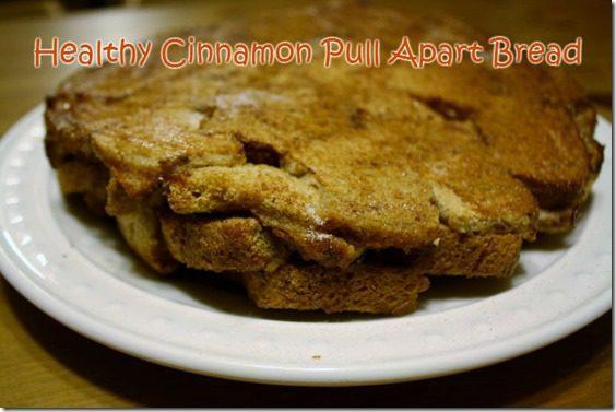 healthy cinnamon pull apart bread recipe