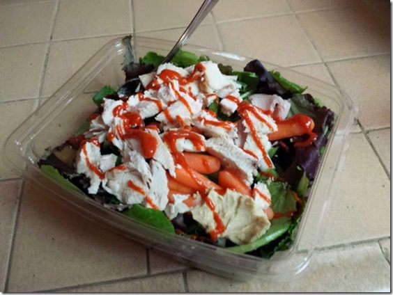 healthy salad with sriracha 668x501 thumb Throwback Thursday Christmas Edition