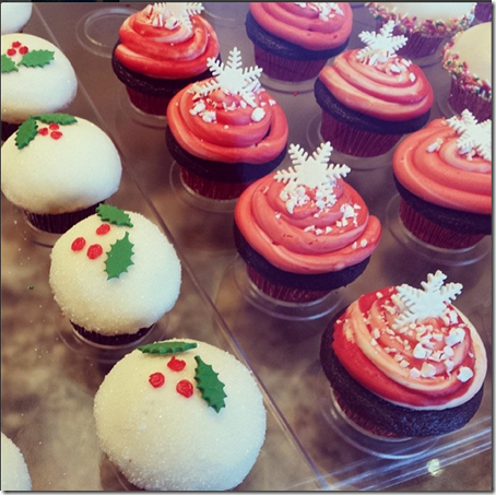 holiday cupcakes from frostings