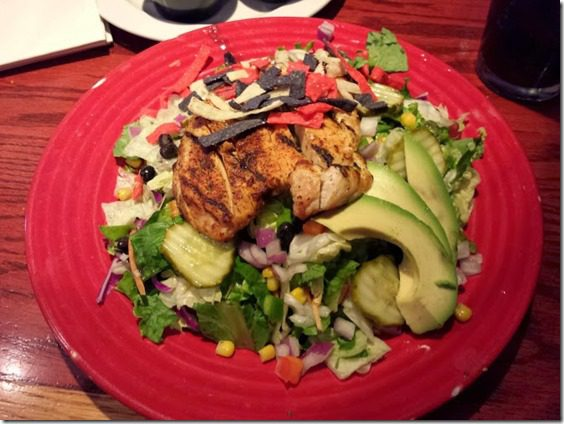red robin salads 668x501 thumb Quick Tip Tuesday– Don't Drink ALL the Calories Just Some of Them