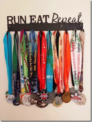 runeatrepeat medal hanger thumb A Year of Running Recap   Running 13 Half Marathons in 2013 and Failing, Kinda