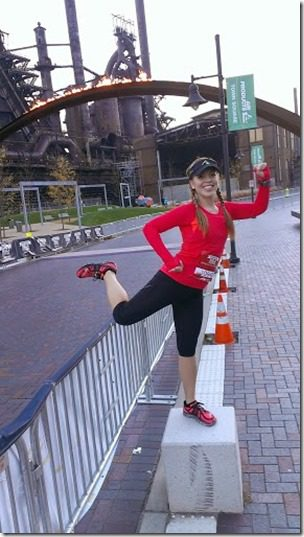 runner pose 287x510 thumb1 A Year of Running Recap   Running 13 Half Marathons in 2013 and Failing, Kinda