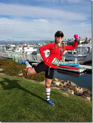 running pose like a weirdo 600x800 thumb Santa To The Sea Half Marathon
