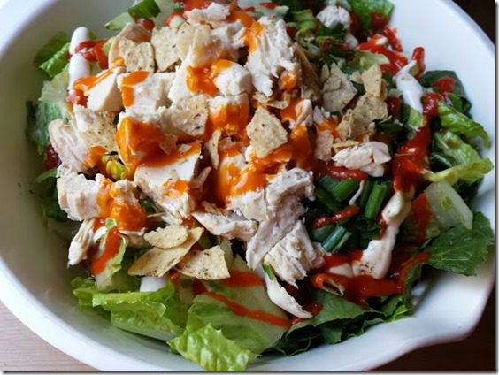 salad for lunch 668x501 thumb Mile Square Park Walk and BEST Appetizer for a Holiday Party
