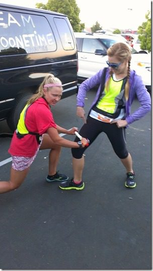 skinnyrunner and the roller thumb A Year of Running Recap   Running 13 Half Marathons in 2013 and Failing, Kinda