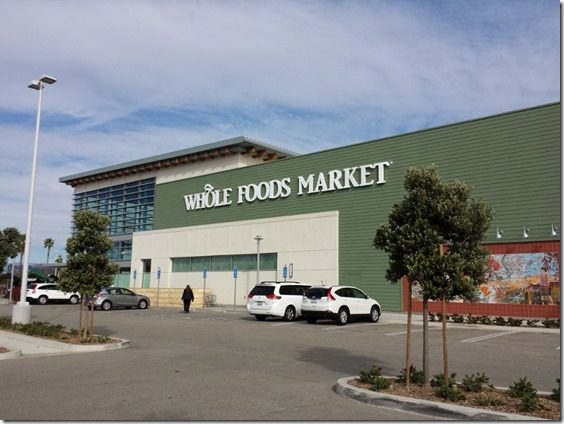 whole foods after the race 800x600 thumb Santa To The Sea Half Marathon