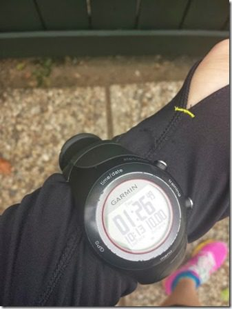 10 mile run wednesday 376x502 thumb What I ATE and WORE (and RAN) Wednesday