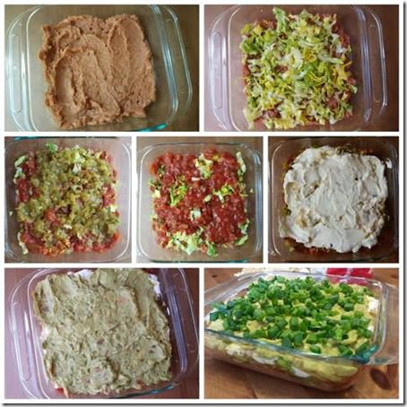 7 layer dip healthy version 481x481 thumb Skinny 7 Layer Dip for Super Football Time
