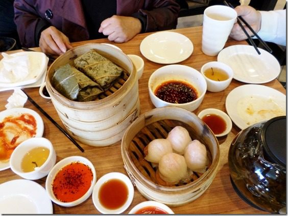 food blogger dim sum in china