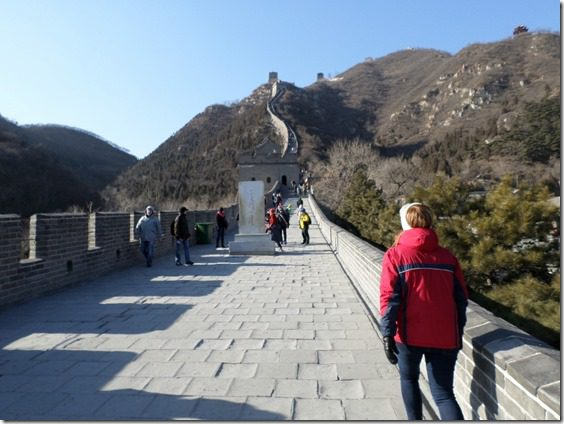 SAM 0370 800x600 thumb Walking on the Great Wall of China