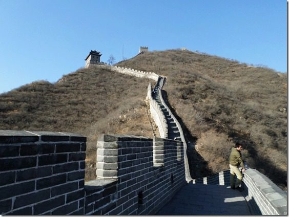 how to climb the great wall of china