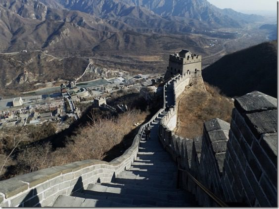 walk dont run on the great wall of china