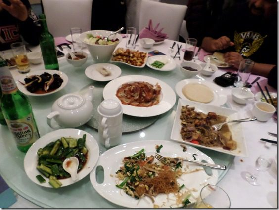 peking duck dinner in beijing food blog