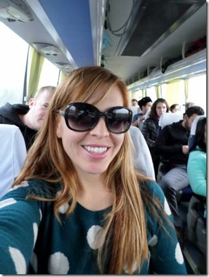 blogging on a bus to shanghai