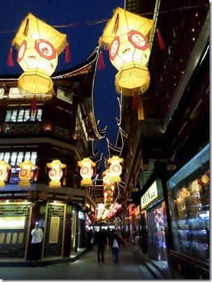 chinatown in shanghai