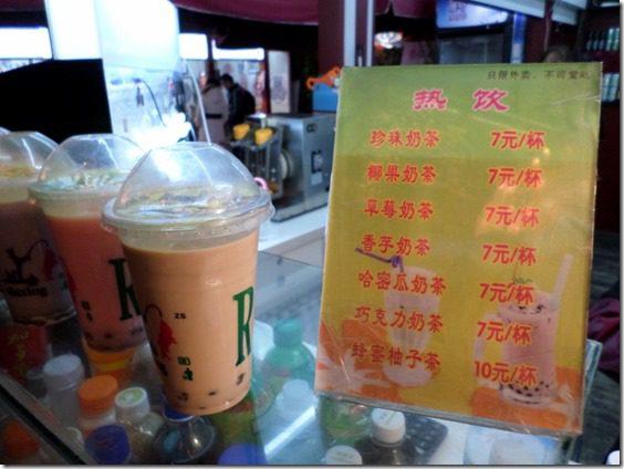 boba milk tea in china food blog