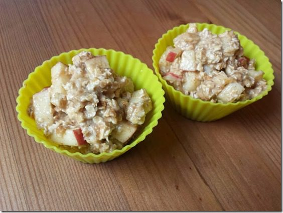 apple oatmeal muffins bake