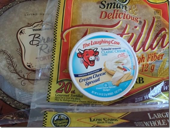 gluten free or high fiber tortillas and laughing cow cheese (669x502)