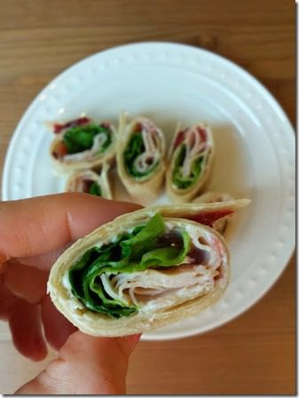 healthy snack wrap with turkey cream cheese and cranberry (376x502)
