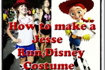 Run Disney Jessie Running Costume