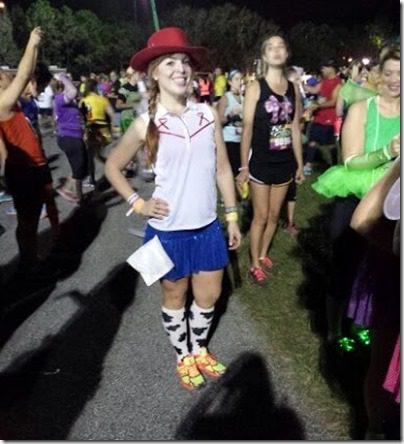 jesse running costume