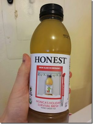 monicas holiday brew from honest tea 376x501 thumb Thirsty Thursday–Drink Your Water