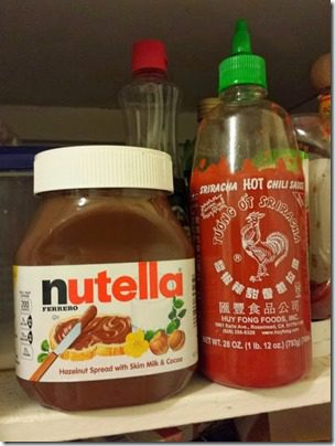 nutella and sriracha 408x544 thumb1 Sunday Set Up Fridge Tip
