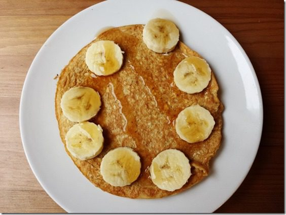 oatmeal pancake recipe easy healthy gluten free (800x600)
