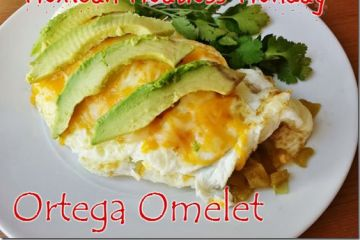 Mexican Meatless Monday Ortega Omelet
