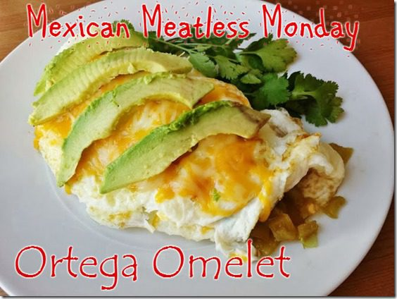 ortega omelet stuffed with chiles food blog recipe thumb Mexican Meatless Monday–Ortega Omelet