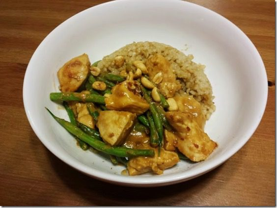 peanut sauce stir fry healthy recipe 669x502 thumb Sunday Set Up–Closet Clean Out