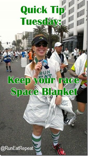 quick tip tuesday for runners  thumb Quick Tip Tuesday : Sweaty Seat Saver