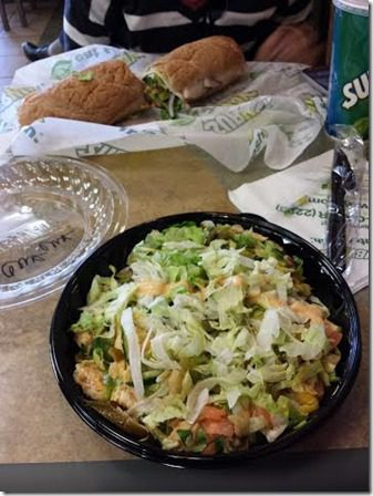subway eat fresh after a marathon thumb Camarillo Marathon Results and Recap